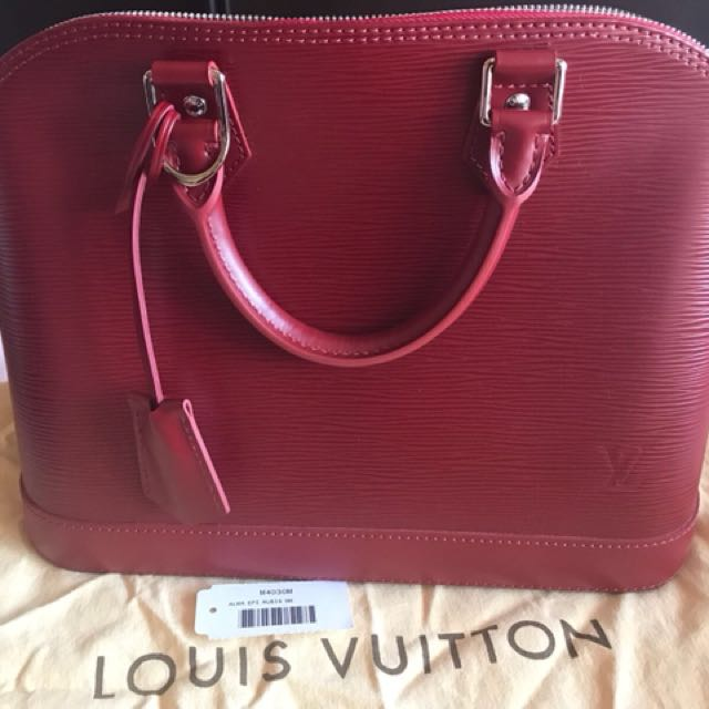 Louis Vuitton Bag (LV) Epi Alma Rubis - Original Singapore, Luxury ... 2f975c20d2
