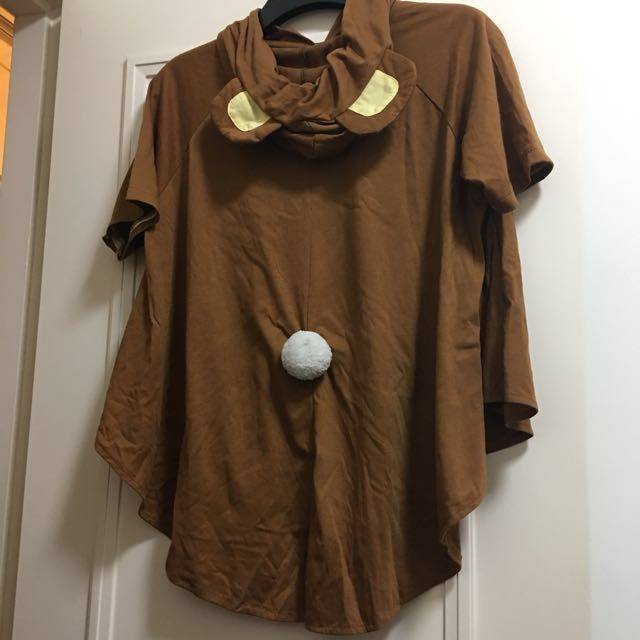 正版M碼鬆弛熊短袖衛衣