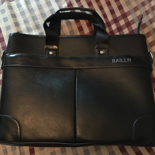 Men's Leather Portfolio Bag