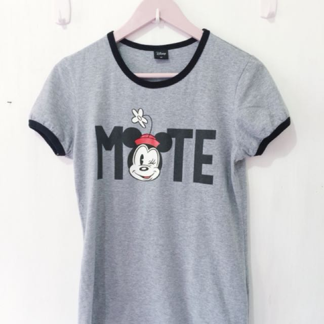 Mickey Mouse Gray Ringer