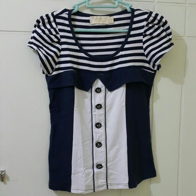 Navy Anchor Shirt