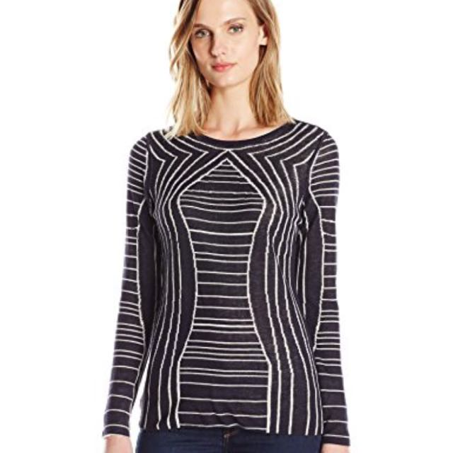 NWT NIC + ZOE Reversible Sweater - small