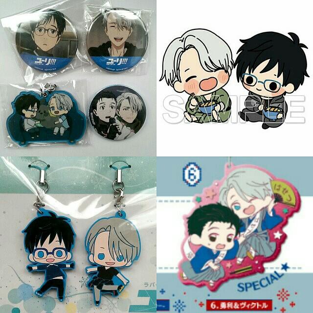 [OFFICIAL] Yuri on Ice Merchandise - Victor Nikiforov + Yuri Katsuki Set #CNY88