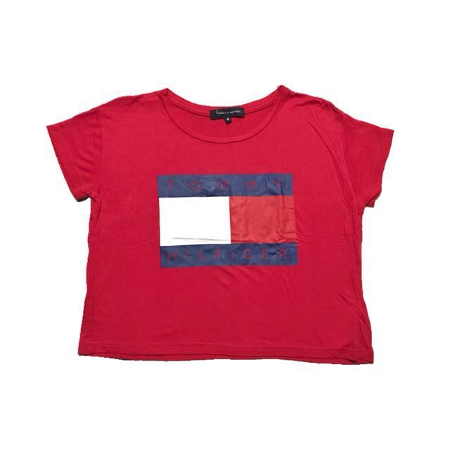 Overrun Tommy Hilfiger cropped top | Never used | Fits Xs-S though tag says M *Selling for the same price I got it.*
