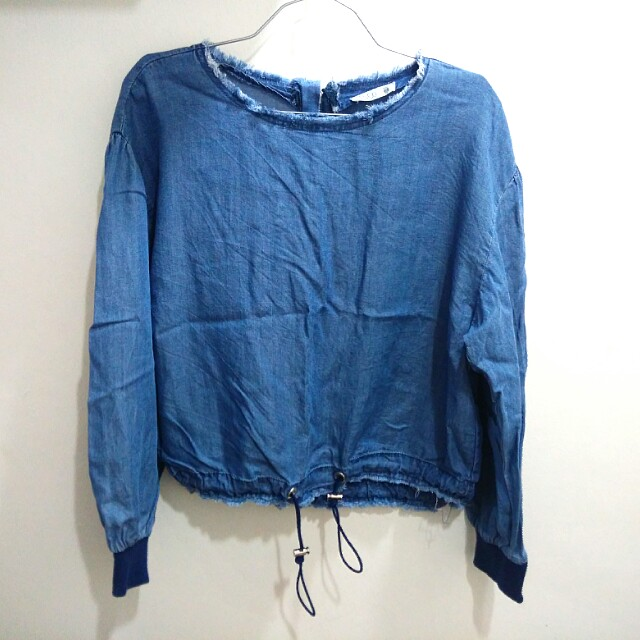 Padini Denim Top / Oversized Outer