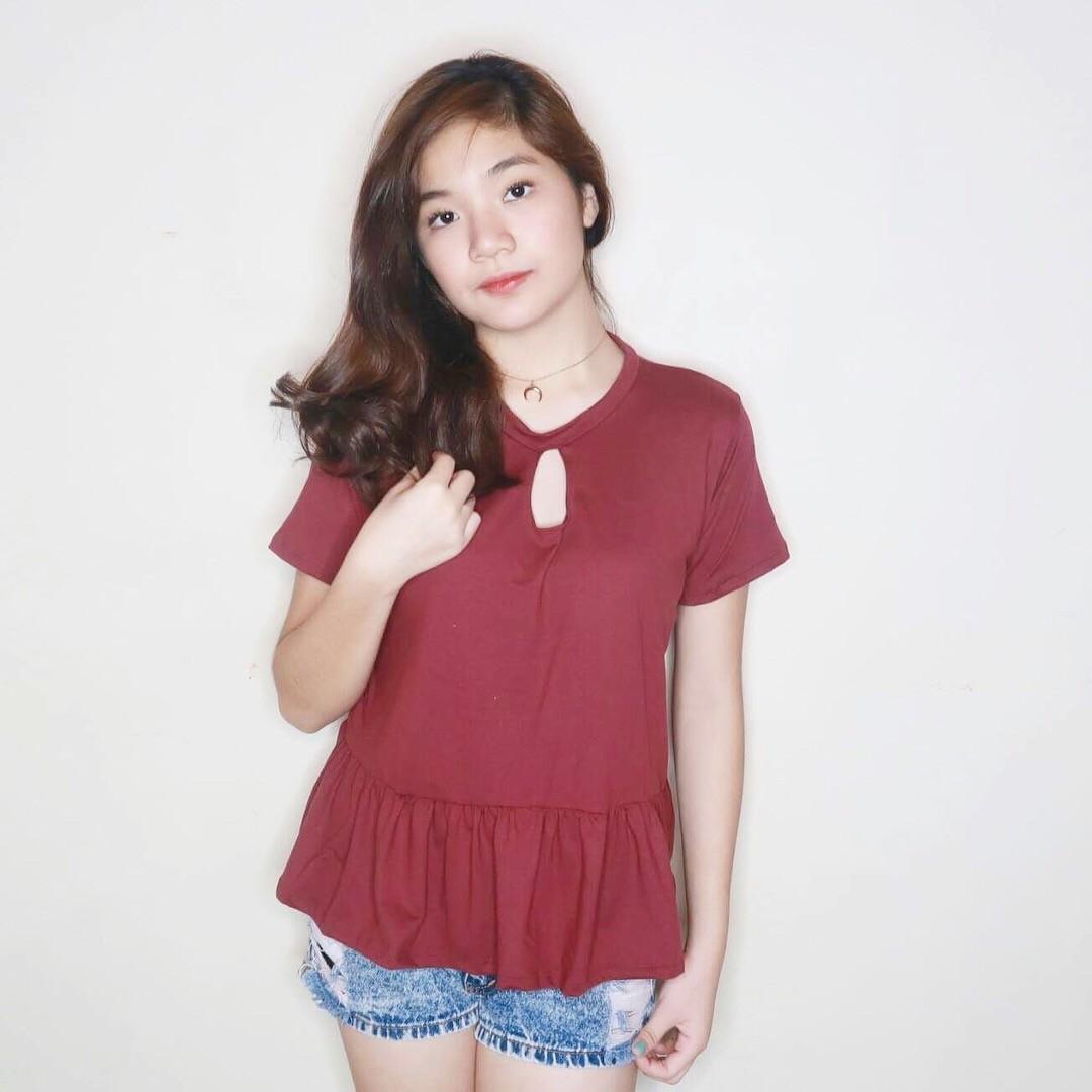 Peplum Shirt #002