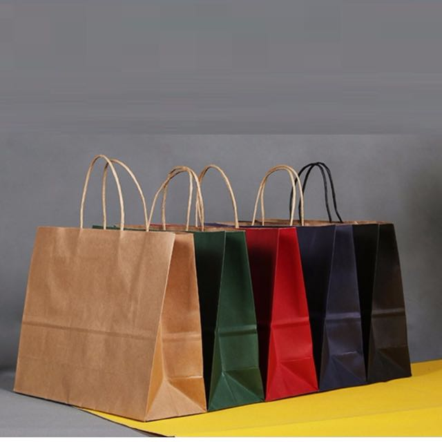 Plain paper bags bulk party door gifts, Design   Craft, Others on Carousell d88634acc7
