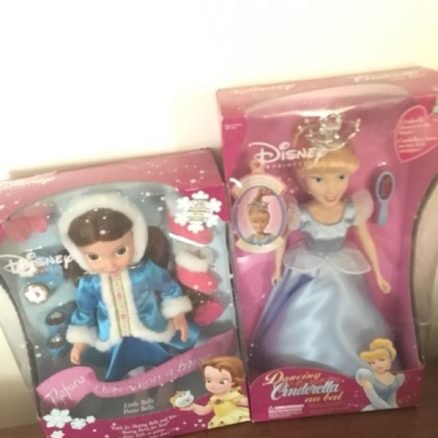 (Price reduced) princess collectables