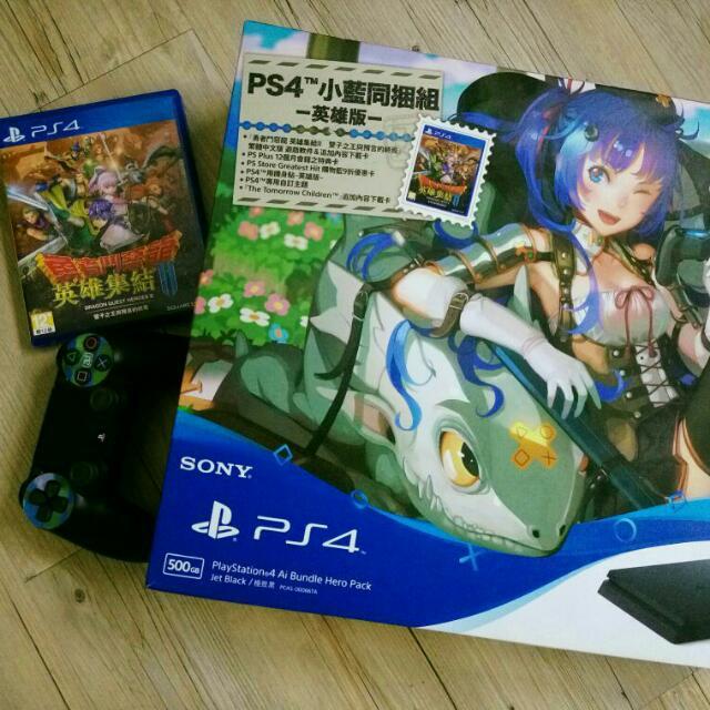 PS4(小藍同捆包)