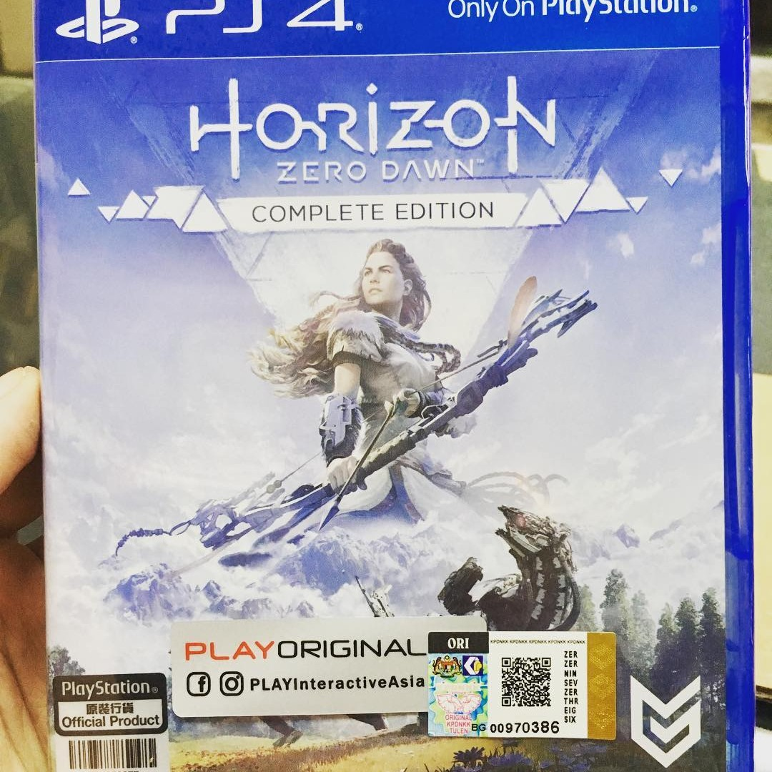 Ps4 Horizon Zero Dawn Complete Edition Frozen Wild Dlc Video Sony Playstation 4 Collector Gaming Games On Carousell