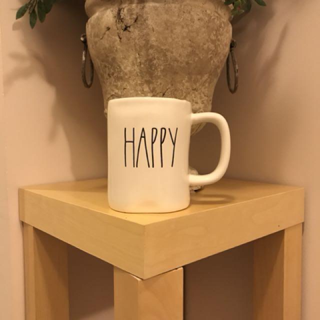 Rae Dunn by Magenta HAPPY mug