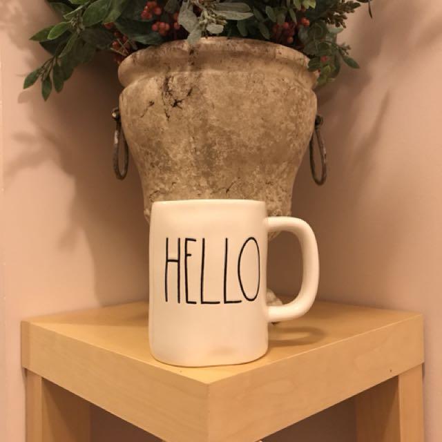 Rae Dunn by Magenta HELLO mug