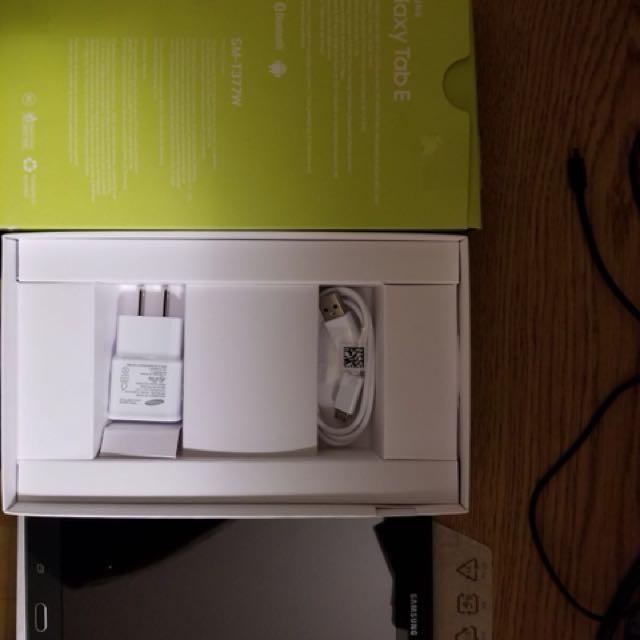 Samsung Galaxy Tab E 16GB SM-T377W (LTE) UNLOCKED