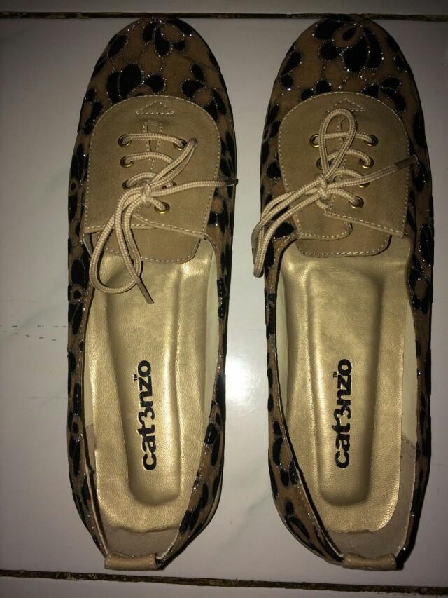 Sepatu Cat3nzo Cat3nzo gold