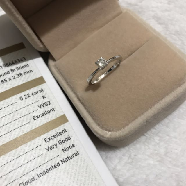Solitaire 4 prong 14k white gold diamond engagement ring sale-sale-sale