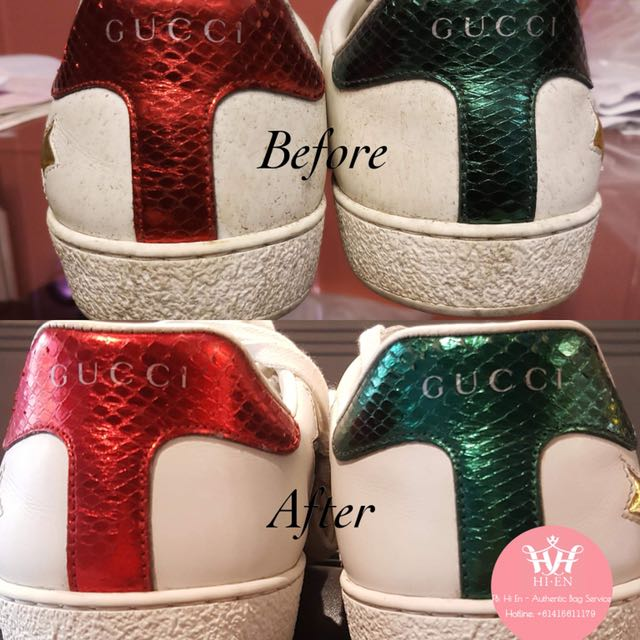 SPA AUTHENTIC GUCCI SNEAKERS