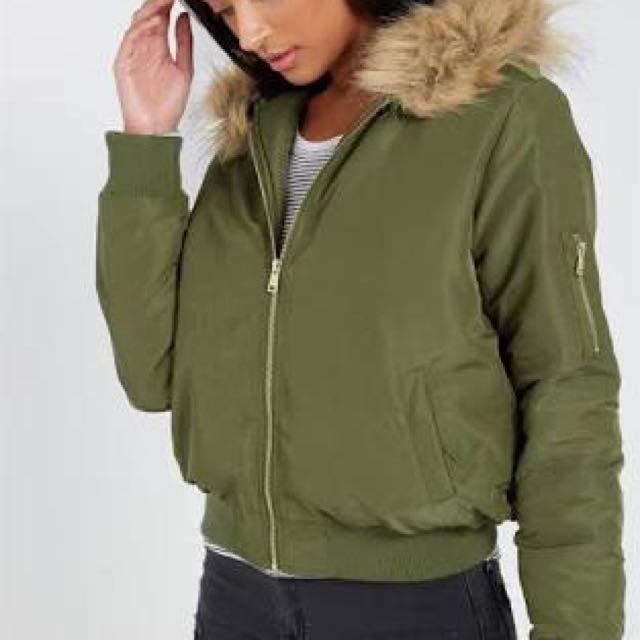 Supre bomber jacket