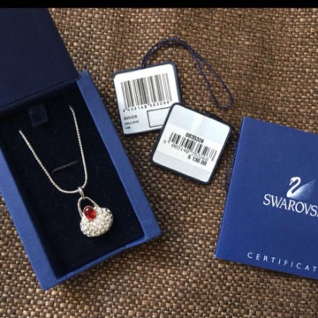 Swarovski Necklace - Brand New w Tags