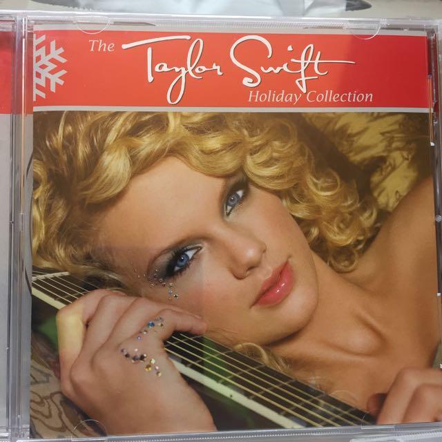 Taylor Swift Christmas Album Music Media On Carousell
