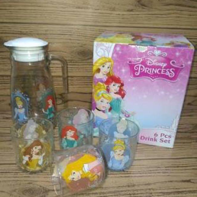 Teko Drink Set Disney Princess
