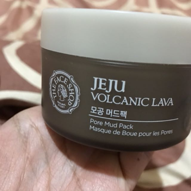 The Face Shop Jeju Volcanic Lava