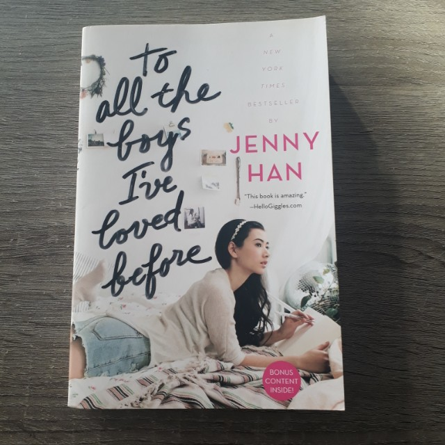 To All The Boys I've Loved Before Novel (ENG VER)