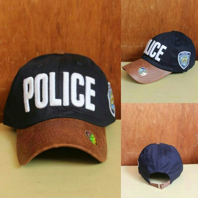 Topi Import Baseball Police Navy, Men's Fashion, Men's Accessories, Caps & Hats on Carousell