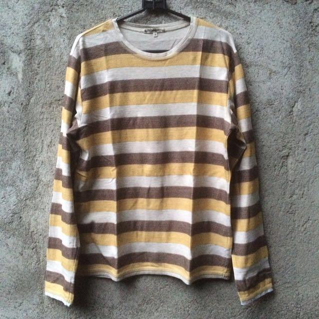 Tshirt Kaos Stripe Goodday