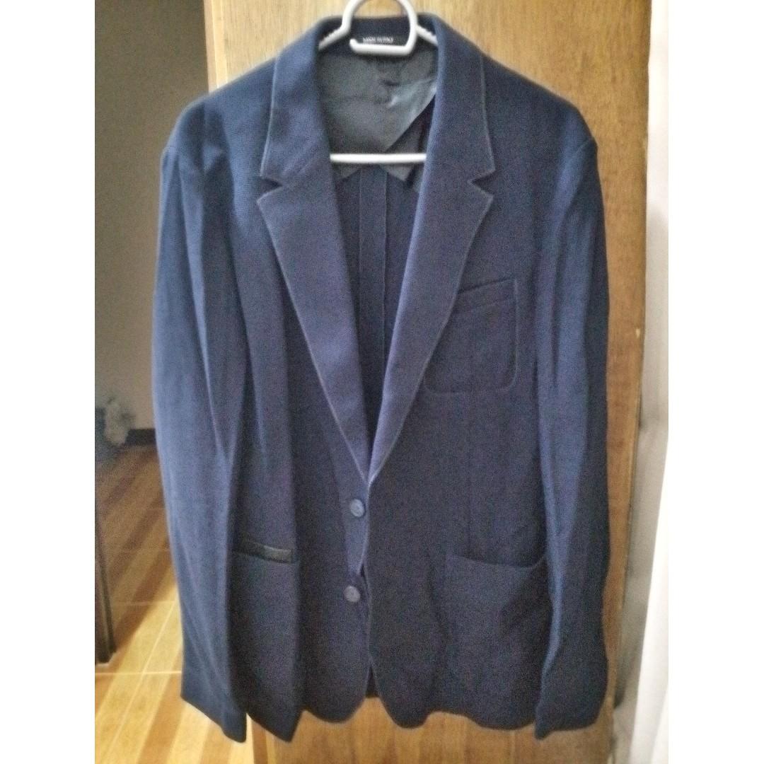 Viktor & Rolf Men's Blazer - EU50 - Navy Blue