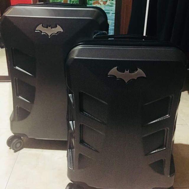 """WB Batman Superlight Hardcase Luggage 24"""""""