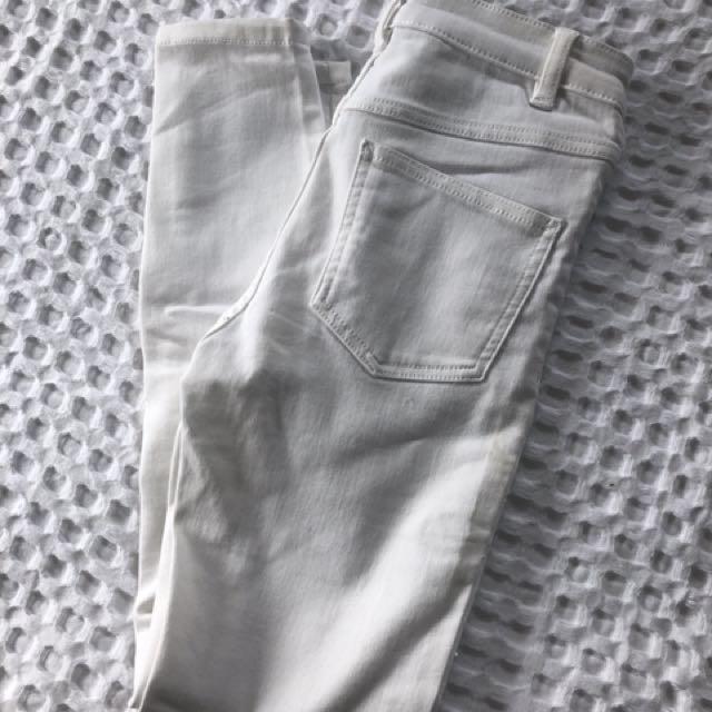 White Dotti jeans