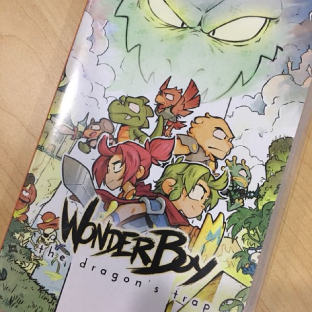 Wonder Boy game Nintendo Switch