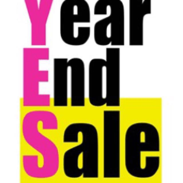 YEAR END SALE🎉