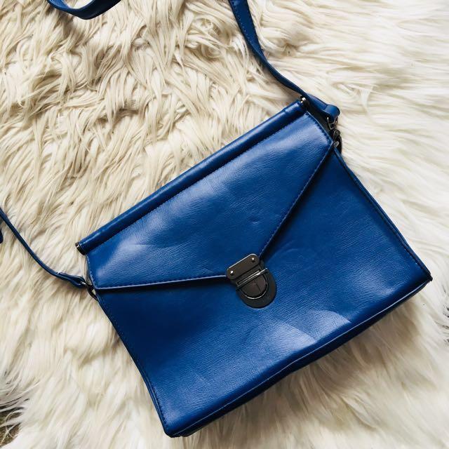 Zalora Blue Shoulder Bag