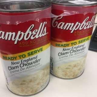Costco Campbell's 蛤蜊濃湯