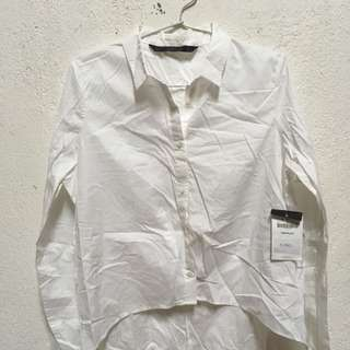 White shirt zara