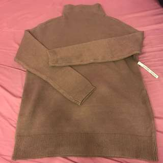 M boutique funnel neck sweater