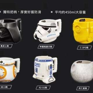 🚚 STAR WARS 3D立體馬克杯-C-3PO款