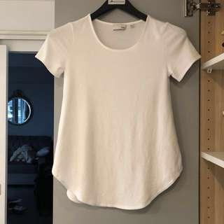 Wilfred white T-shirt - xs