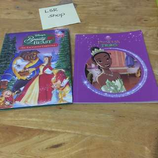 Book Bundle‼️Disney's Beauty&the Beast + The Princess &the Frog