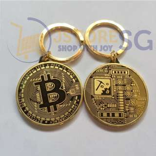 Bitcoin Keychain [In Stock Now!}