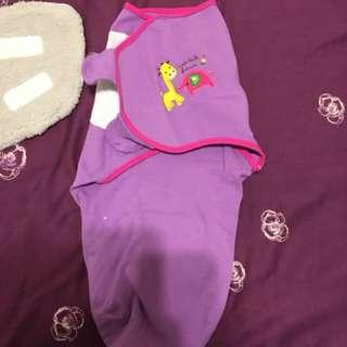 🚚 二手 嬰兒包巾