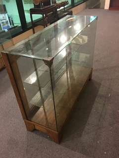 Old Provision Shop Glass Display Cabinet