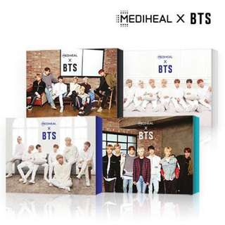 MEDIHEAL x BTS Facial Mask Set
