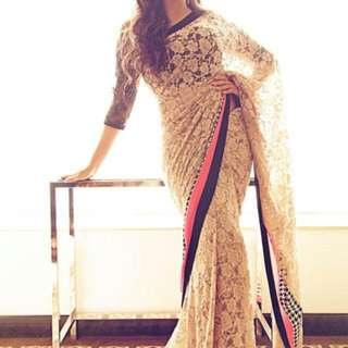 Lace Saree