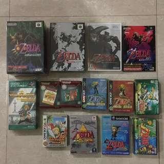 Nintendo legend of zelda collection
