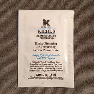 Kiehls hydro-Plumping Serum Concentrate