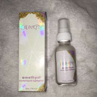 Colourpop amethyst crystal liquid highlighter