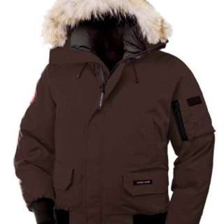 Brand New Men's Authentic Canada Goose Chilliwack Bomber Winter Jacket