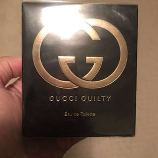 *REDUCED* GUCCI GUILTY 50ML NEW
